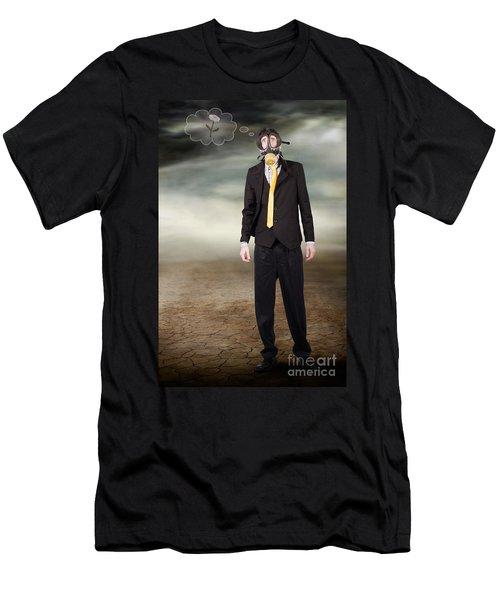 Environmental Disaster Men's T-Shirt (Athletic Fit)