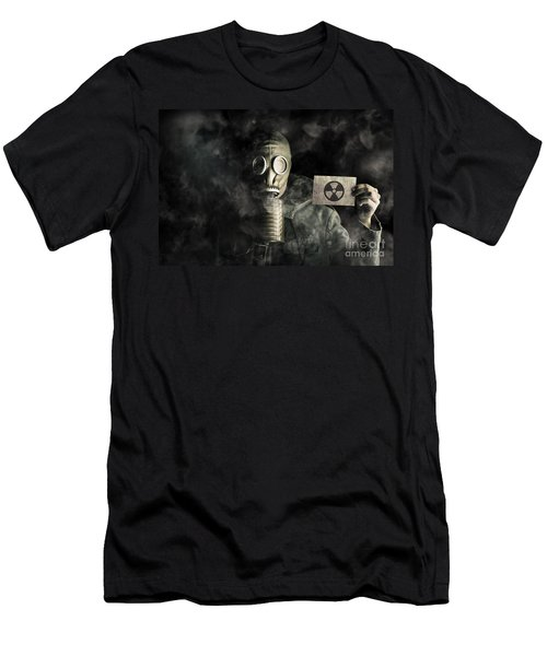 Nuclear Threat Men's T-Shirt (Athletic Fit)