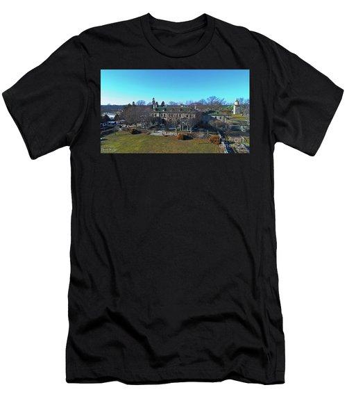 Eolia Mansion Men's T-Shirt (Athletic Fit)
