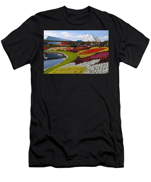 Epcot Gardens Men's T-Shirt (Athletic Fit)