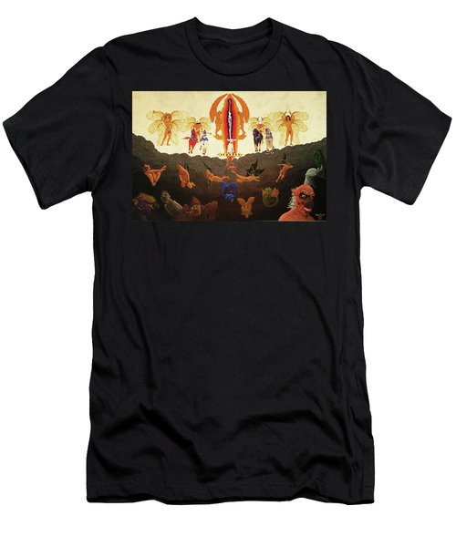 Epic - In The Valley Of Megiddo Men's T-Shirt (Slim Fit)