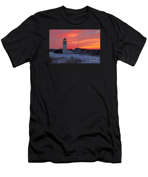 Epic Sunset At Highland Light Men's T-Shirt (Athletic Fit)