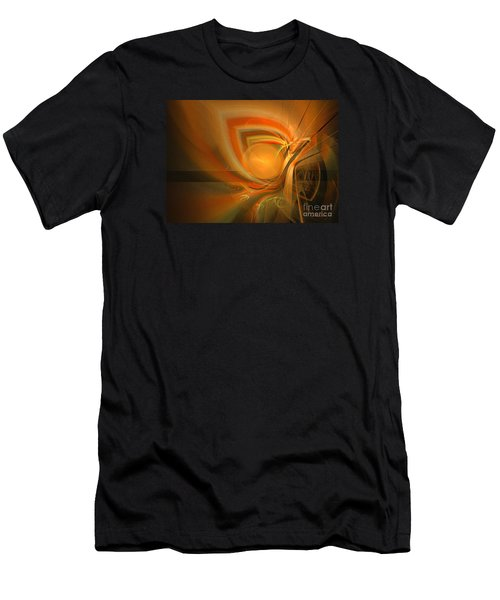 Equilibrium - Abstract Art Men's T-Shirt (Athletic Fit)