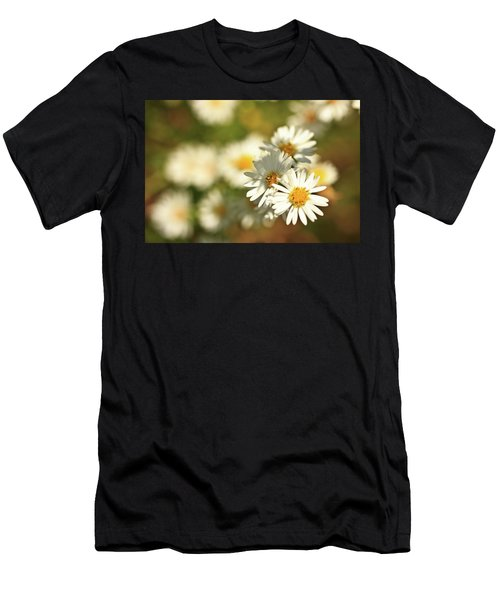Erigeron Annuus Daisy Like Wildflower Men's T-Shirt (Athletic Fit)