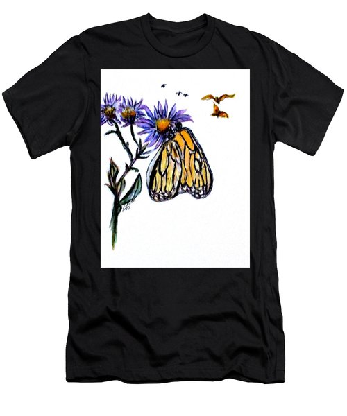 Erika's Butterfly One Men's T-Shirt (Slim Fit)