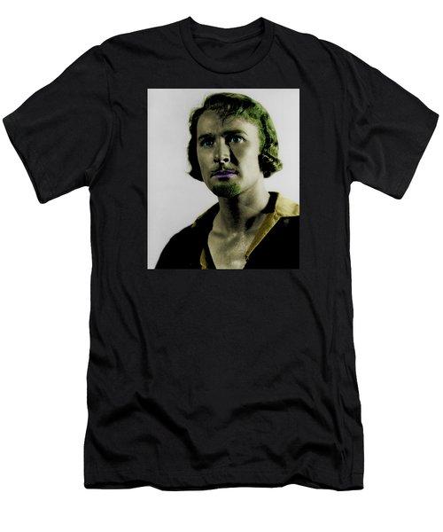 Errol Flynn In Color Men's T-Shirt (Slim Fit) by Emme Pons