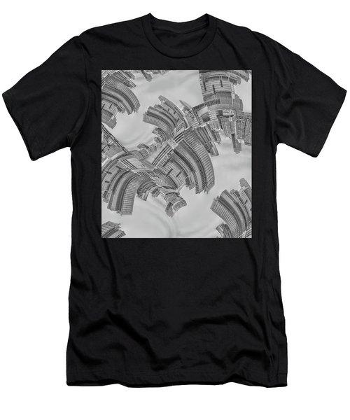 Escheresque Nyc Men's T-Shirt (Athletic Fit)