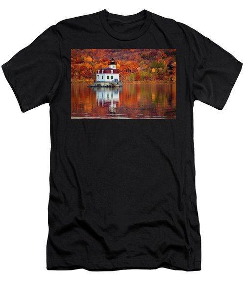 Esopus Lighthouse In Late Fall #2 Men's T-Shirt (Athletic Fit)