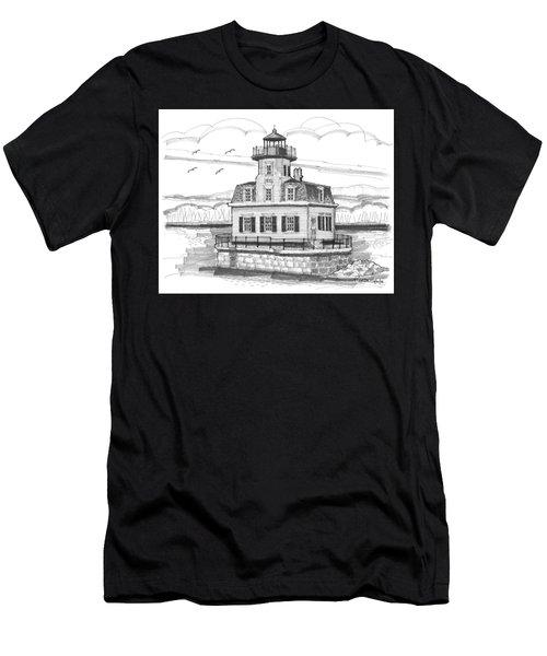 Esopus Meadows Lighthouse Men's T-Shirt (Athletic Fit)