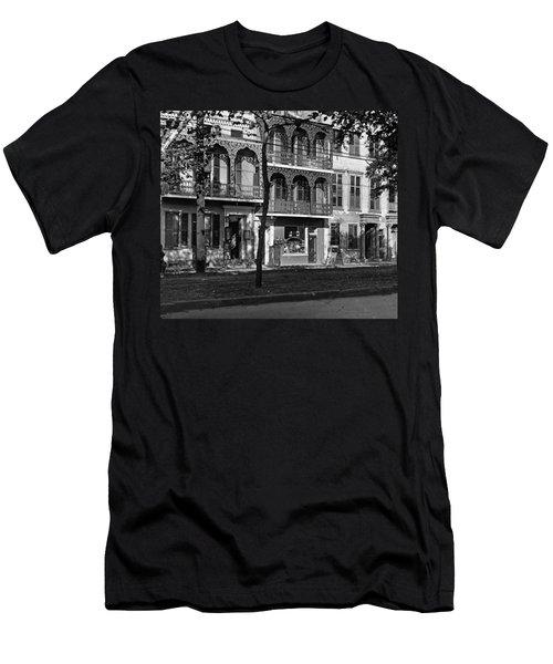Esplanade Ave Men's T-Shirt (Athletic Fit)