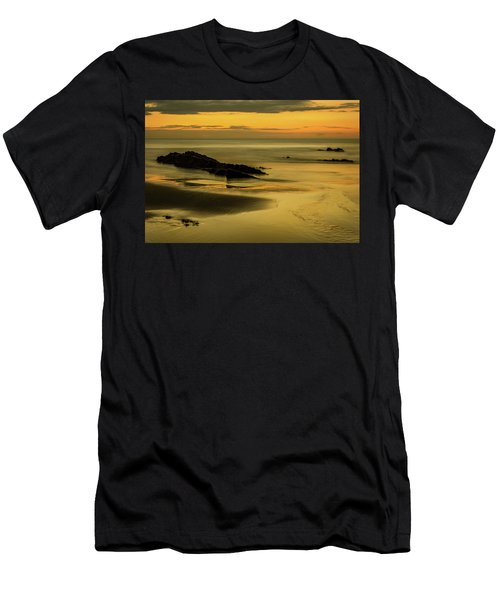 Men's T-Shirt (Athletic Fit) featuring the photograph Essentially Tranquil by Nick Bywater
