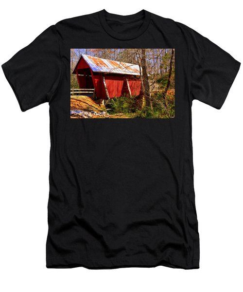 Est. 1909 Campbell's Covered Bridge Men's T-Shirt (Athletic Fit)