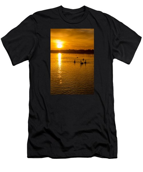 Estuary Sunset Men's T-Shirt (Athletic Fit)