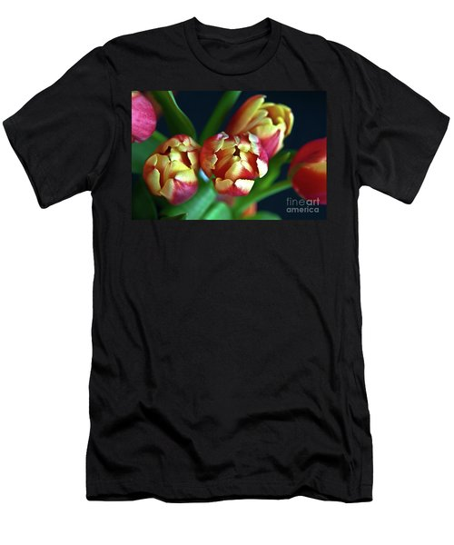 Men's T-Shirt (Athletic Fit) featuring the photograph Eternal Sound Of Spring by Silva Wischeropp