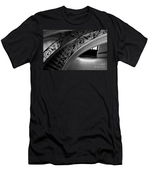 Eternal Staircase Men's T-Shirt (Athletic Fit)