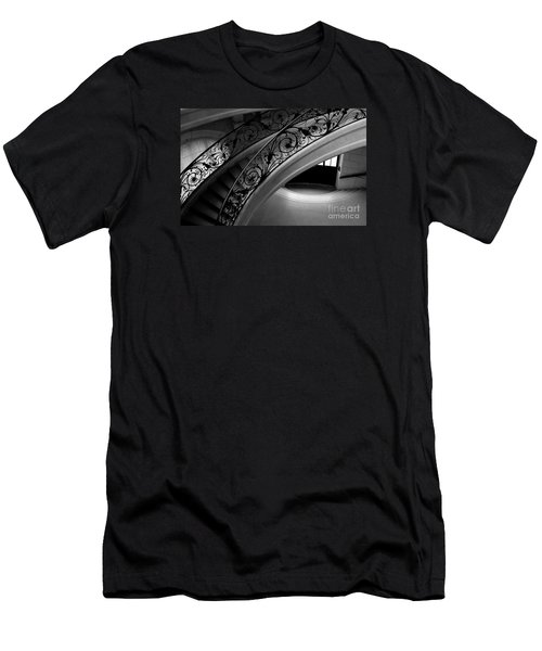 Men's T-Shirt (Athletic Fit) featuring the photograph Eternal Staircase by Miles Whittingham