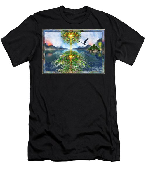 Etheric Lake Men's T-Shirt (Athletic Fit)