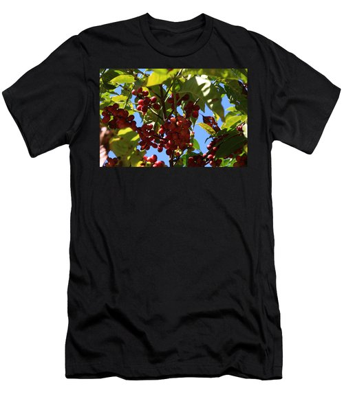 Men's T-Shirt (Athletic Fit) featuring the photograph Ethiopian Coffee Beans by Aidan Moran