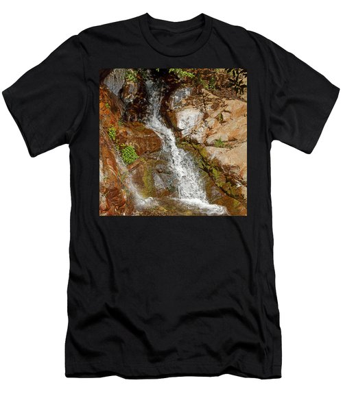 Etiwanda Waterfalls Men's T-Shirt (Athletic Fit)