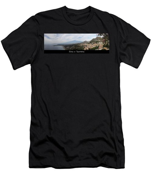 Etna E Taormina Men's T-Shirt (Athletic Fit)