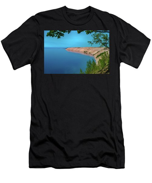 Eveing Light On Grand Sable Banks Men's T-Shirt (Athletic Fit)