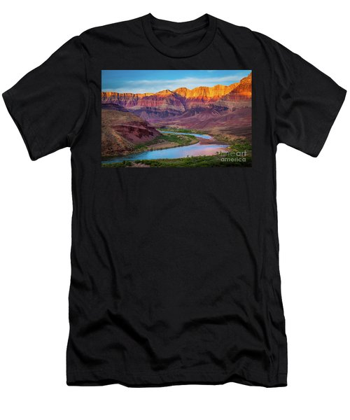 Evening At Cardenas Men's T-Shirt (Athletic Fit)