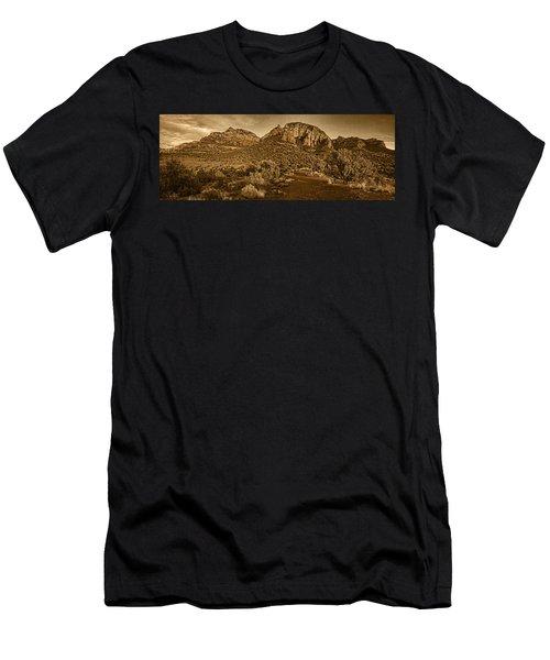 Evening At Dry Creek Vista Tnt Men's T-Shirt (Athletic Fit)