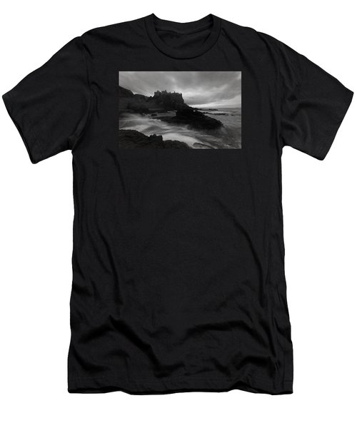 Evening At Dunluce Men's T-Shirt (Slim Fit) by Roy  McPeak