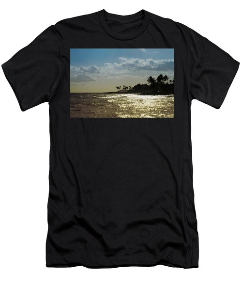 Evening At Poipiu Kauai Men's T-Shirt (Athletic Fit)