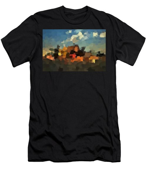 Evening At The Farm Men's T-Shirt (Athletic Fit)
