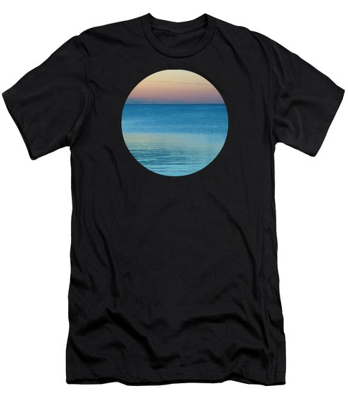 Evening At The Lake Men's T-Shirt (Athletic Fit)