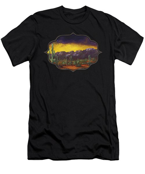Evening Desert Men's T-Shirt (Athletic Fit)