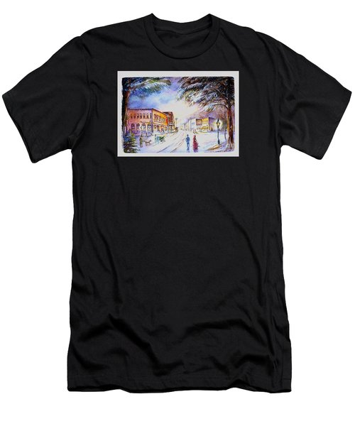 Evening In Dunnville Men's T-Shirt (Athletic Fit)