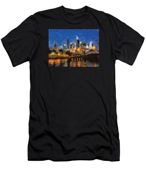 Evening In Melbourne Men's T-Shirt (Athletic Fit)