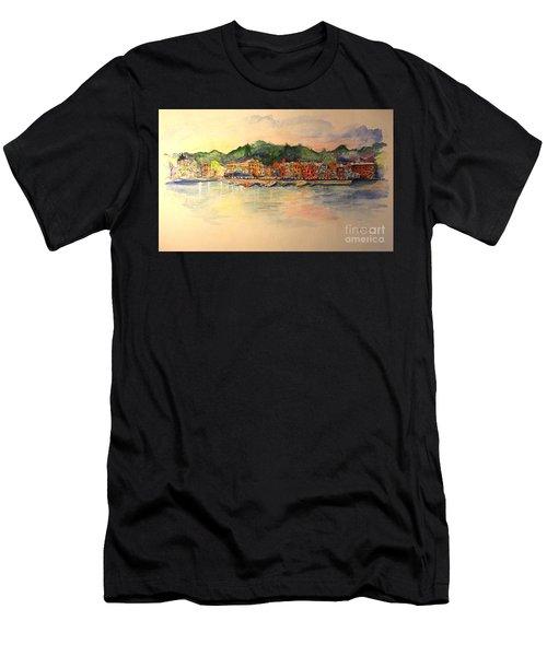 Skaneateles Village Men's T-Shirt (Athletic Fit)