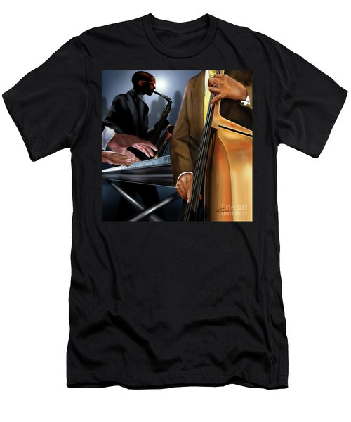 Evening Jazz Crowd Pleaser Men's T-Shirt (Athletic Fit)