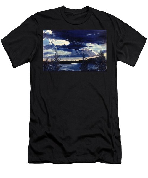 Evening Lake Men's T-Shirt (Athletic Fit)