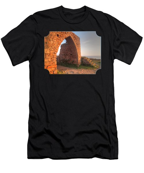 Evening Light On Grosnez Castle Ruins Jersey Men's T-Shirt (Athletic Fit)