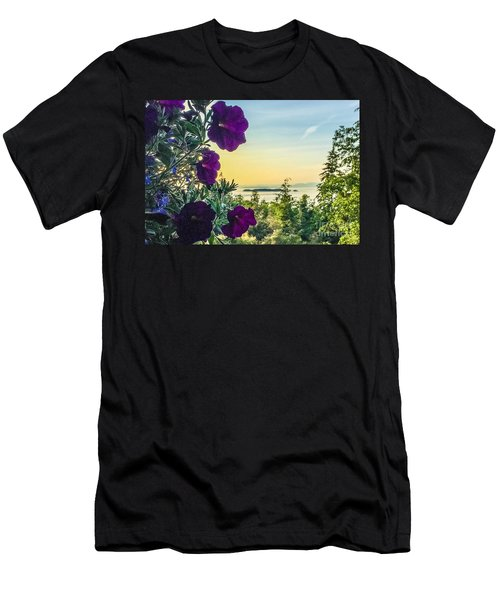 Evening Light On Orcas Island Men's T-Shirt (Athletic Fit)