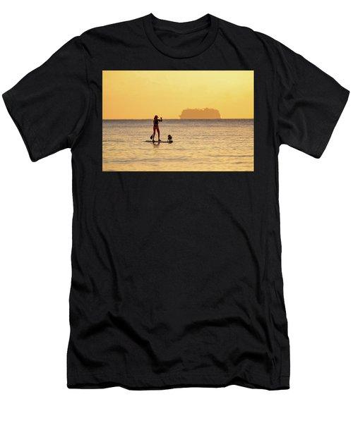 Evening Paddle Men's T-Shirt (Athletic Fit)