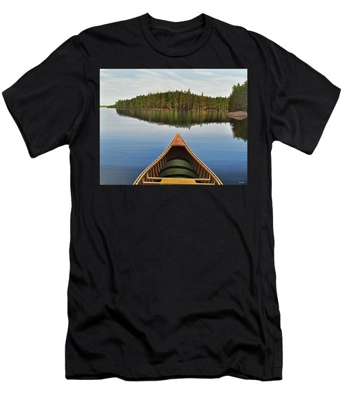 Evening Paddle  Men's T-Shirt (Athletic Fit)
