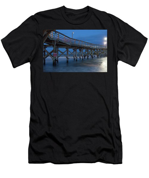 Evening Pier Men's T-Shirt (Athletic Fit)