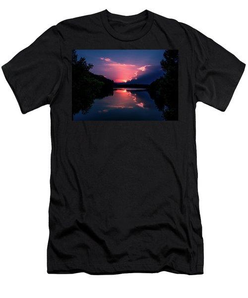 Evening Reflection Men's T-Shirt (Athletic Fit)