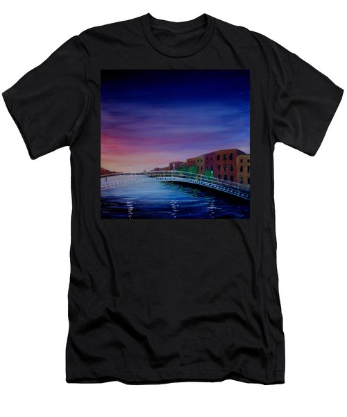 Evening Reflections Dublin  Men's T-Shirt (Athletic Fit)