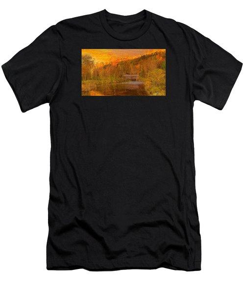 Evening Shadows II Men's T-Shirt (Athletic Fit)