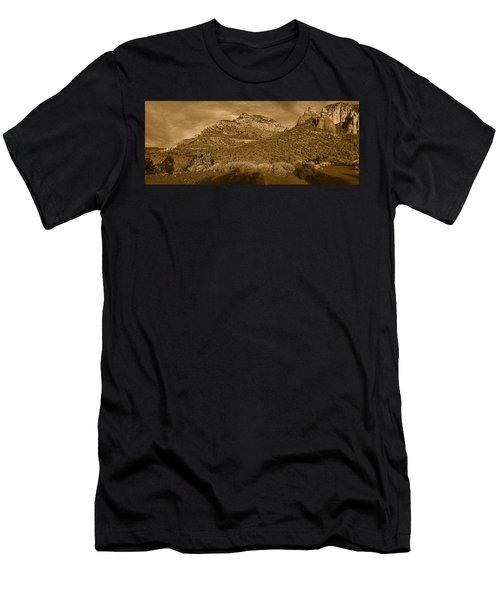 Evening Shadows Pano Tnt Men's T-Shirt (Athletic Fit)