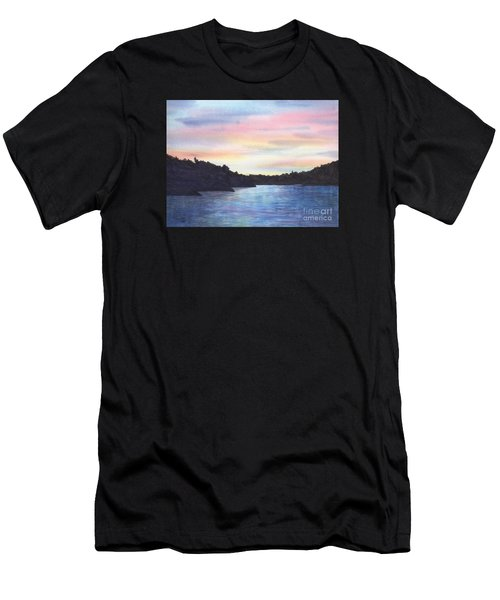 Evening Silhouette Men's T-Shirt (Athletic Fit)