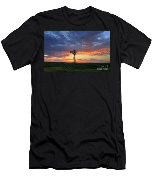 Evening Solitude Men's T-Shirt (Athletic Fit)