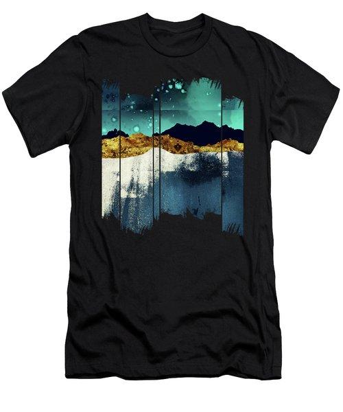 Evening Stars Men's T-Shirt (Athletic Fit)