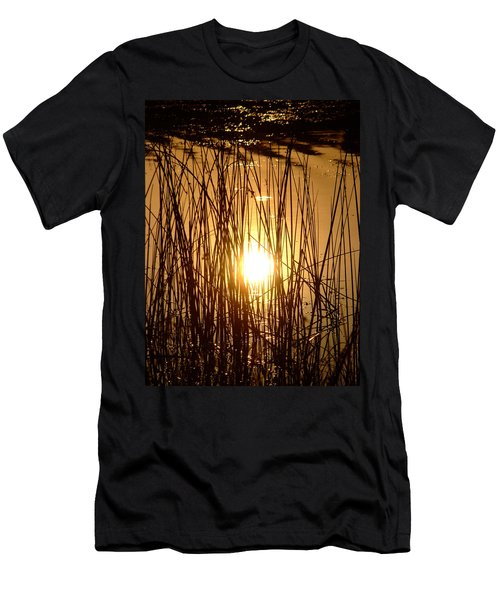 Evening Sunset Over Water Men's T-Shirt (Athletic Fit)